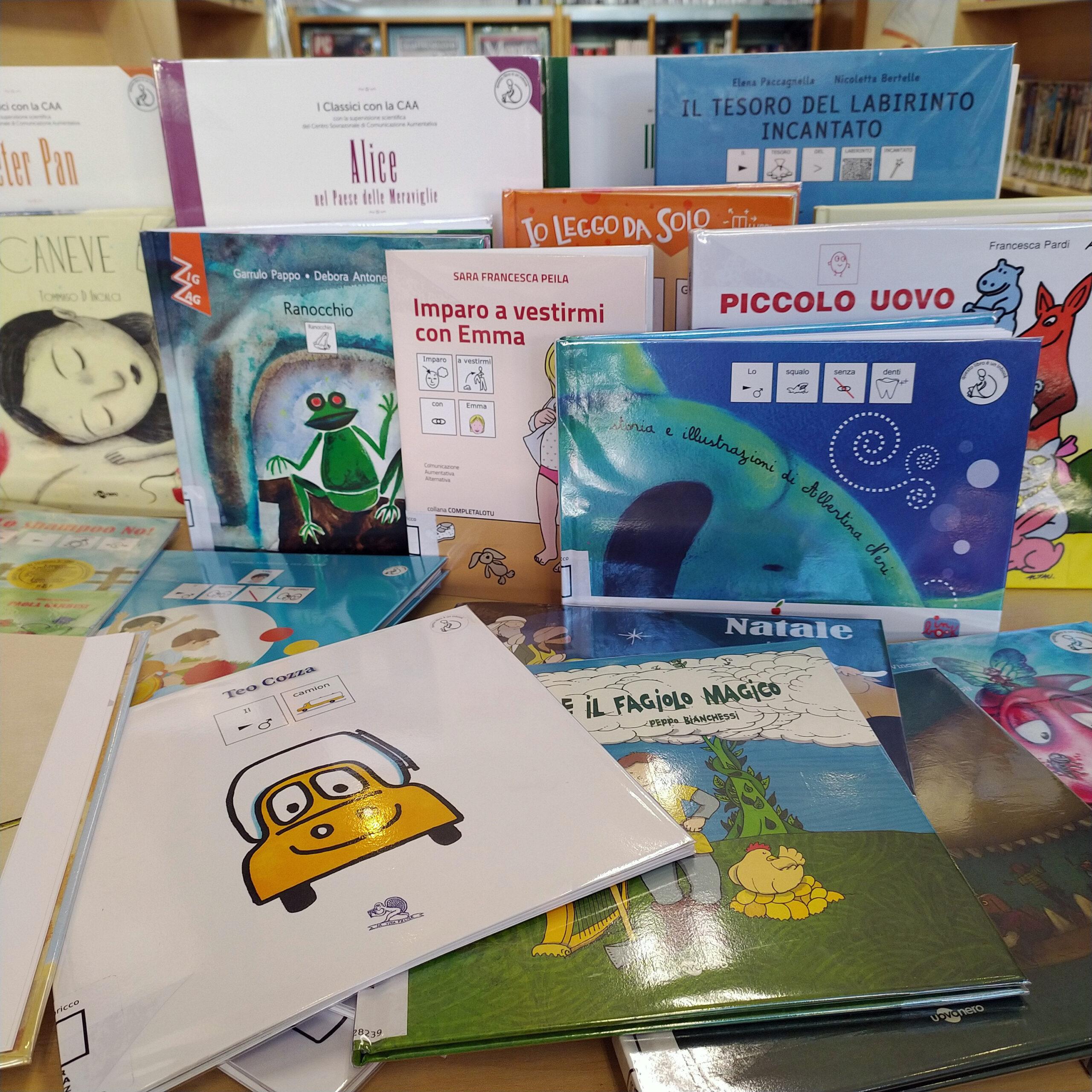 Libri in CAA, per un lettura inclusiva